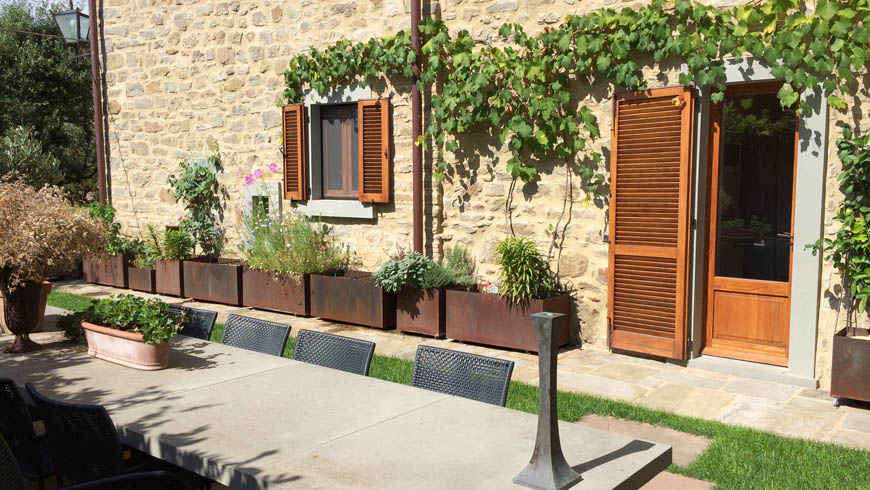 Three storey attached town house in Cortona Photo 1